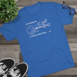 I'd Rather Be Tri-Blend Crew Tee