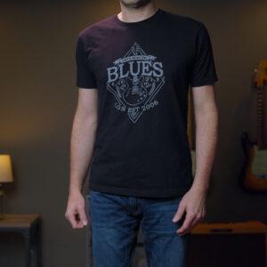 The Blues Cotton Crew Tee