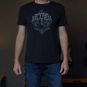 The Blues Tri-Blend Crew Tee